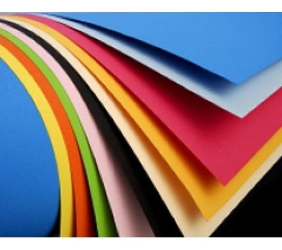 Cartulina Escolar 45x63 Por 100 Un Colores Surtidos (5 X 20)