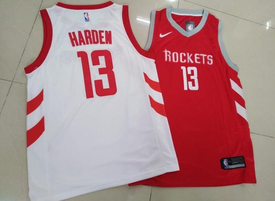 Camiseta Nba Jersey Houston Rockets James Harden