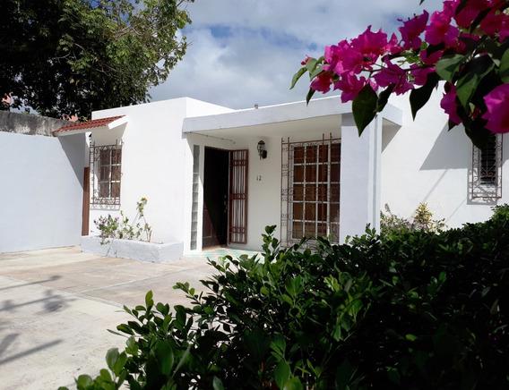 Casa Céntrica, Equipada Y Amueblada En Renta En Cancún