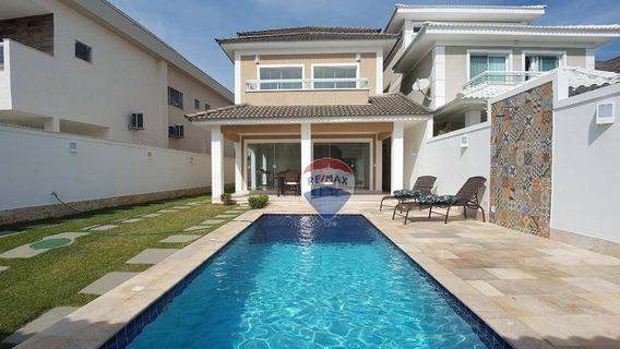 Casa À Venda, 260 M² Por R$ 1.400.000,00 - Recreio Dos Bandeirantes - Rio De Janeiro/rj - Ca0033