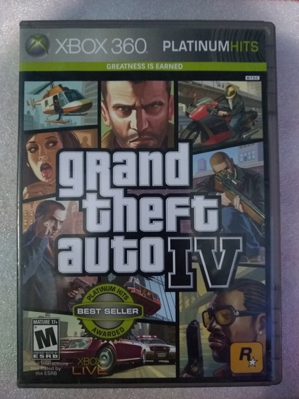 Grand Theft Auto Iv - Xbox 360 - Original