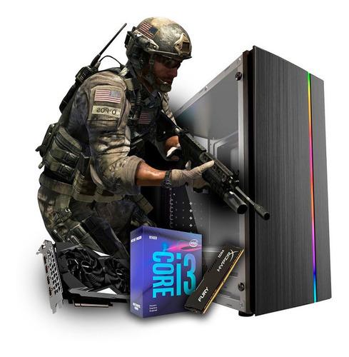 Pc Cpu Gamer Intel I3 9100f 8gb Ddr4 Gtx 1650 4gb Hd 1tb