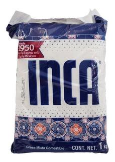 Caja Manteca Inca 12 Piezas De 1 Kilo Cada Una