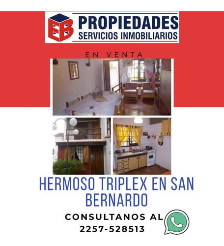Imagen 1 de 13 de ¡excelente Triplex En San Bernardo! ¡oportunidad!