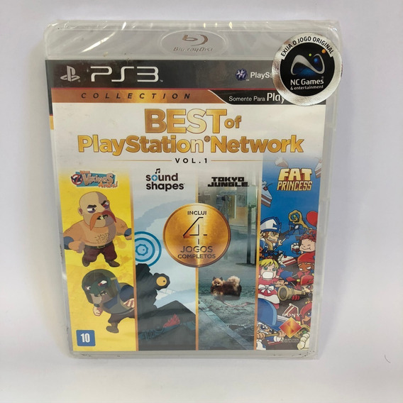 Best Of Playstation Network Ps3 Lacrado Midia Fisica