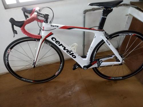 Bicicleta Cervelo S5 De Carbono Tamanho 51