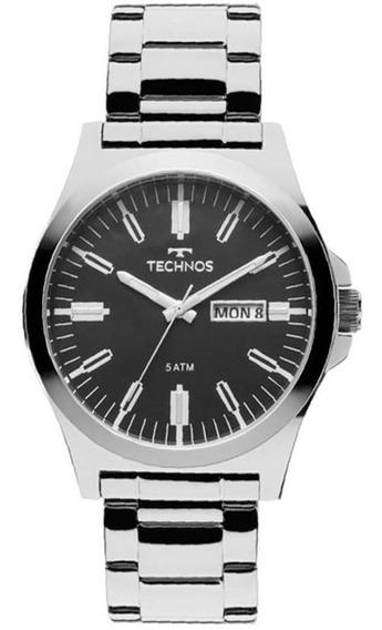Relógio Technos Masculino Mod 2305ax/1p Classic - Original