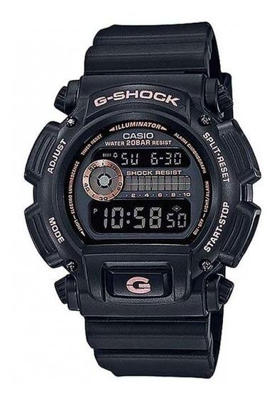 Relógio Casio Masculino Digital G-shock Dw-9052gbx Negativo