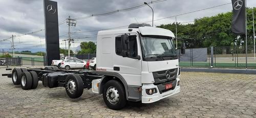 Mb Atego 3030 Bitruck 8x2  4º Eixo Completo Leito 2017