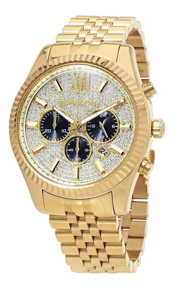 Reloj Análogo Marca Michael Kors Modelo: Mk8494 Color Oro Pa