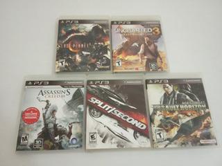 Juegos Originales Playstation - 5 Títulos - En Oferta. 15vrd