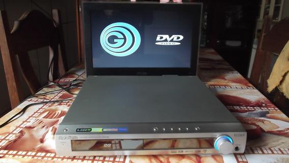 Dvd Receiver Gradiente Hts-760. Funcionando (com Ressalva).