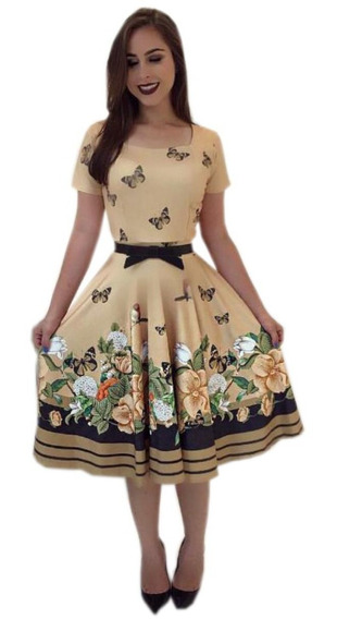 Vestido Gode Duplo Plus Size Moda Evangelica Do 48 Ao 52