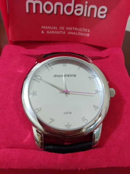 Relógio Mondaine Feminino Prata R76259gn04