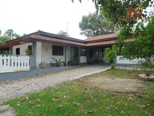 Chácara Com 3 Dormitórios À Venda, 4000 M² Por R$ 800.000,00 - Chacaras Tamoio - Peruíbe/sp - Ch0160