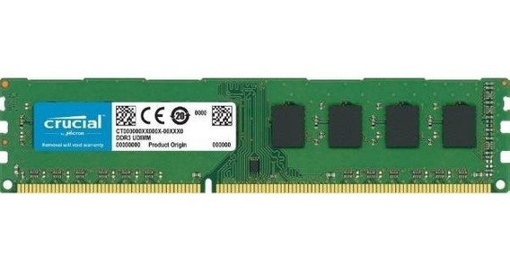 Memoria Ddr3 4gb 1600 Mhz Crucial