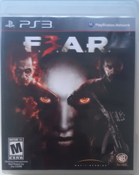 Fear 3 Ps3 - Midia Fisica Original