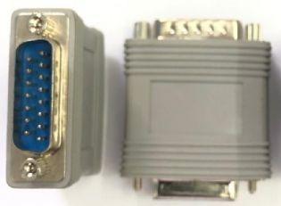 Adaptador Db15 Macho X Db15 Macho Db15m-db15m