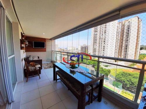 Apartamento Com 3 Dormitórios À Venda, 130 M² Por R$ 900.000,00 - Baeta Neves - São Bernardo Do Campo/sp - Ap3428