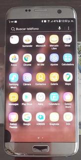 Celular Samsung S7 Edge Con Detalles
