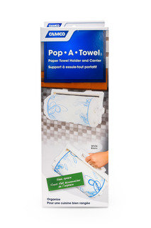Camco Pop-a-towel- Dispensador De Toalla
