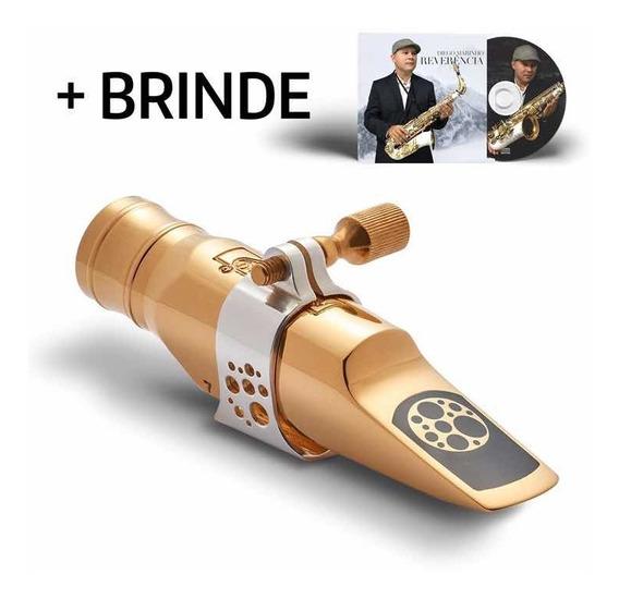 Boquilha Ever-ton Strenght 7 Gold Sax Alto Completa