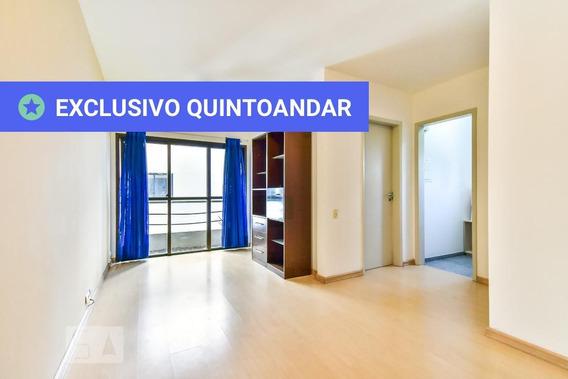 Apartamento No 2º Andar Com 1 Dormitório E 1 Garagem - Id: 892976593 - 276593