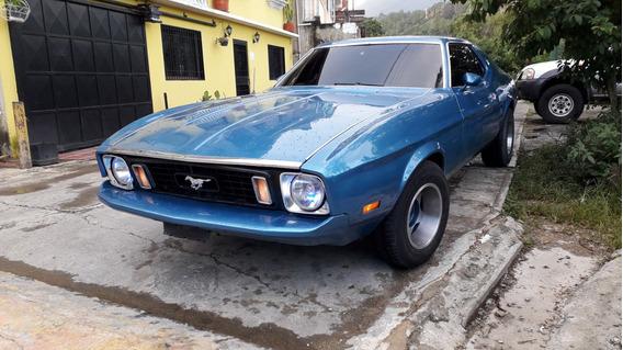 Mustang Coupe Motor 302 1973 Azul 2 Puertas