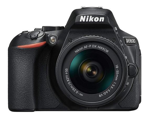 Camara Profesional Nikon D5600 Reflex Kit 18-55 Nueva Gtia