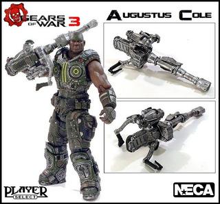 Gears Of War 3: Augustus Cole. Neca. 2012.