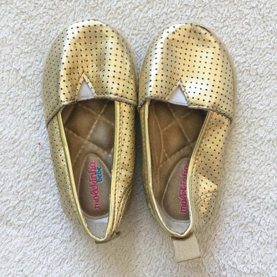 Sapato Dourado Tam 20