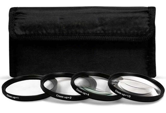Kit De Filtros Close-up 72mm, 8+,4+,2+,1+p/ Macro-temos Loja
