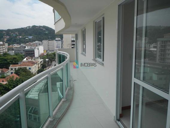 Botafogo, Fastastico, Sala, 3 Quartos, Suite, Dependências, Garagem Escriturada! - Ap1953