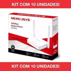 Kit 10 Roteador Tplink Mercusys Wifi Mw301r Wirele 2antena ,