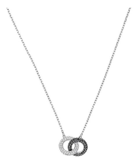 Collar Swarovski Stone Baño De Radio Mod 5445706
