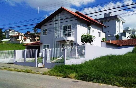 Casa Mobiliada Com 04 Quartos E Piscina Em Palhoça - 237