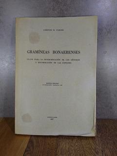 L2140 Lorenzo R Parodi Gramíneas Bonaerenses Quinta Edición