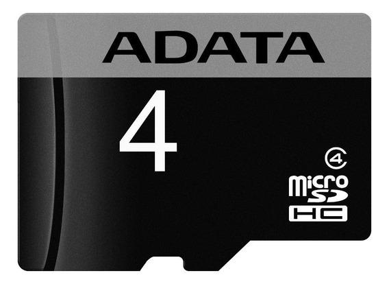 Tarjeta de memoria Adata AUSDH4GCL4-RA1 4GB