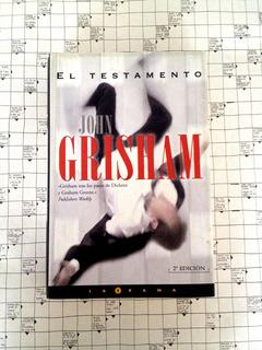 Libro El Testamento John Grisham (tapa Dura). U8
