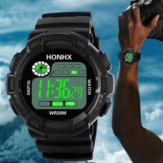 Relógio Honhx Preto Digital Masculino