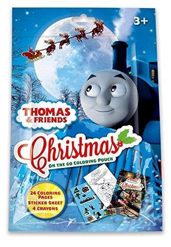 Thomas El Tren Para Colorear De Navidad Pack De Actividades