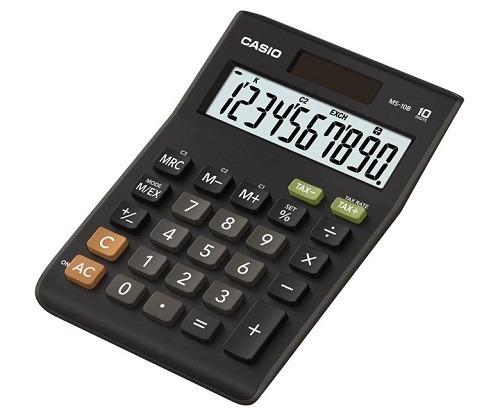 Imagen 1 de 1 de Calculadora Casio Ms-10