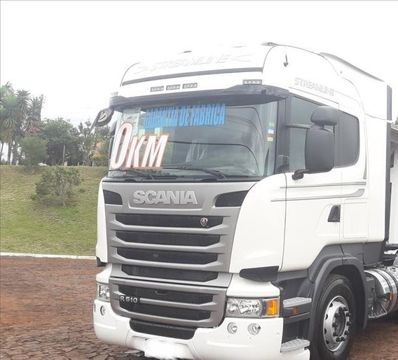 Scania R510 6x4 Ano 2019
