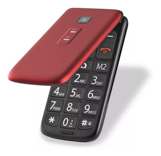 Celular Flip Vita Vermelho Dual Chip Quadriband P9021 2,4