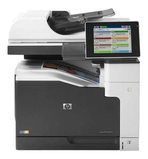 Impresora a color multifunción HP LaserJet Enterprise M775DN 220V - 240V blanca y gris