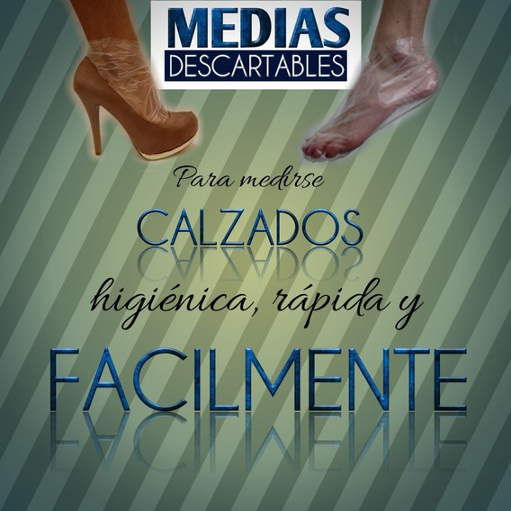 Medias Descartables Mpc - 5.000 Unidades