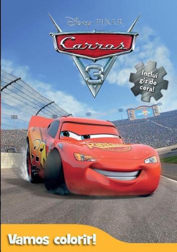 Imagem 1 de 1 de Disney - Vamos Colorir - Carros 3