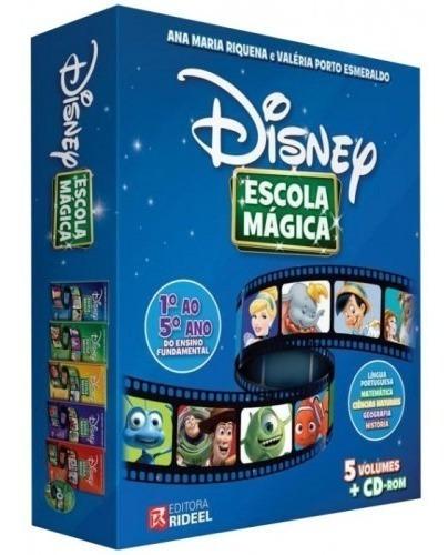 Coleção Disney Escola Magica 1º Ao 5º Ano Ensino Fundamental