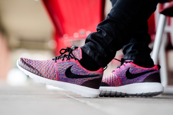 Nike Roshe One Multicolor (40) Ed. Limitada Free Fly Knit