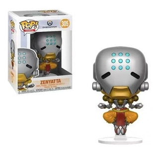 Figura Funko Pop Games Overwatch - Zenyatta 305. Original